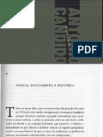 Antonio Candido - Poesia, documento e História (ensaio)