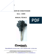 Sensor de Condutividade Controlador de PH