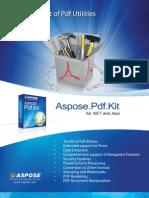 Aspose.Pdf.Kit Brochure