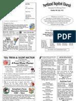 120708 PBC Bulletin - July 8