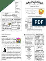 PBC Bulletin - July 22