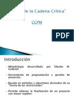 Cadena Crítica-Dirección de Proyecto
