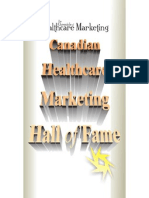 Canadian Healthcare Marketing Hall of Fame