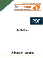Newsademic Issue 169 B Activities Advanced