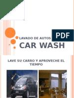 LAVADO DE AUTOS - presentación