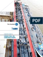 A Master's Guide to Using Fuel Oil Onboard Ships