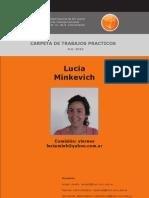 "Carpeta Marca Provincia ""Santa Cruz"" - Minkevich"