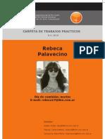 "Carpeta Marca ""Provincia Buenos Aires"" - Palavecino, Rebeca"