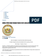 Hawaii CYBER CRIME PACKAGE Passes State Legislature _ Pine for City Council