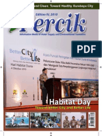 Habitat Day. PERCIK.  Indonesian Water and Sanitation Magazine 4th Edition 2010