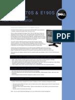 Dell E190S Monitor