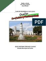 Acuerdo Plan de Desarrollo 2012 2015 Ocaña Participativa y Confiable