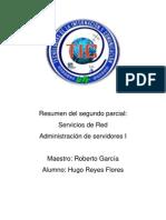 Resumen Del Segundo Parcial Hugo Reyes Flores