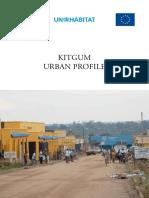 Kitgum Urban Profile - Uganda