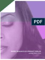 Product Catalog Phase #1