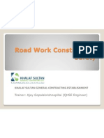 Guard Rail Construction Safety