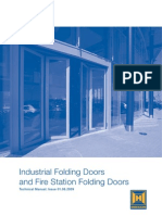 Hormann - Steel Folding Doors