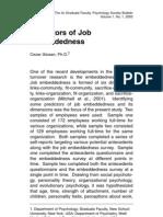 Referensi Job Embeddedness
