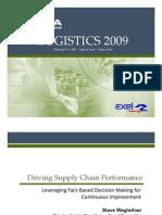 10A WEGLEITNER RICKETTS Driving Supply Chain Performance