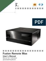 Fusion Remote Max_EN Manual