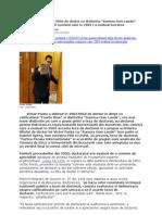 """Victor Ponta a Obtinut Titlul de Doctor Cu Distinctia """"Summa Cum Laude"""""""