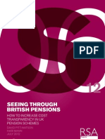 Seeing through the British pension system