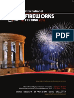 Malta International Fireworks Festival 2012 Official Magazine