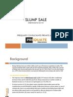 Slump Sale