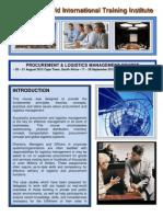Course Outline - Procurement and Logistics Management - 2012 - Training Course