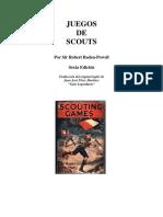 Juegos de Scouts