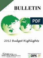 2012 Malaysia Tax Bulletin
