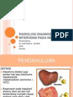Radiologi Diagnostik Dan Intervensi Pada Hepatoma
