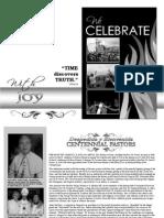 Centennial Book - We Celebrate