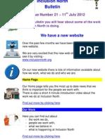 Inclusion North Bulletin 21