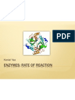 Enzymes- Rate of Reaction