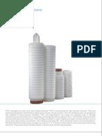 Pt Fe Filter Cartridges