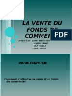 La Vente Du Fond de Commerce 12
