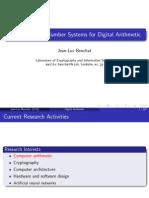Lcis Digital Arithmetic