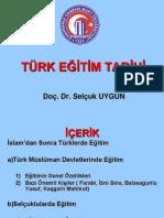 İslamiyetten-Sonra-Türklerde-Eğitim
