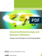 Industrial Biotechnology and Biomass Utilisation