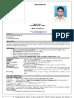 Imran Mca Resume