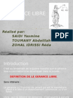 LA_GERANCe du fonds de commerce