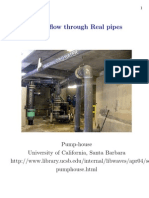 Fluid Flow Through Real Pipes