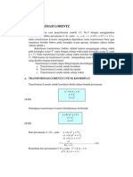 Transformasi Lorentz