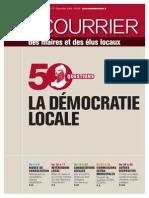 La démocratie locale, Courrier des maires, 09/2008