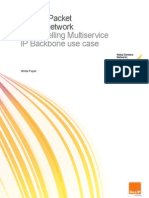 ResIP White Paper the Mobile Packet Backbone Network a Compelling Multiservice IP Backbone Usecase