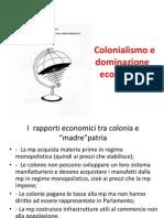 Colonialismo e Dominazione Economica