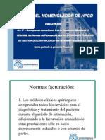 Normas de facturación 2010 Oct 2010
