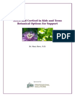White Paper - Stress and Cortisol in Kids and Teens