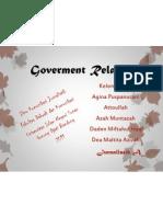 Public Relation-Bentuk Goverment Relation